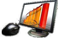 Presentation on a laptop